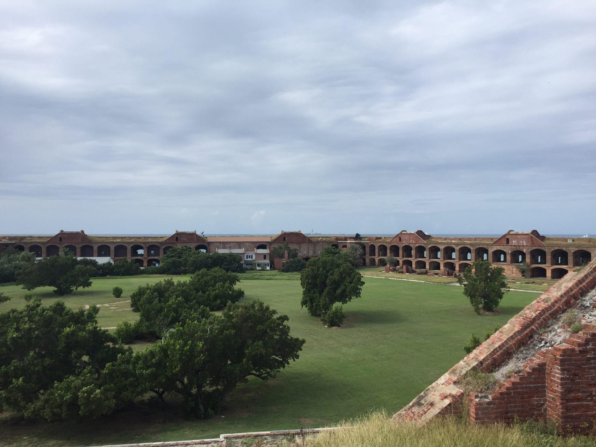 Dry Tortugas Fort Panorama