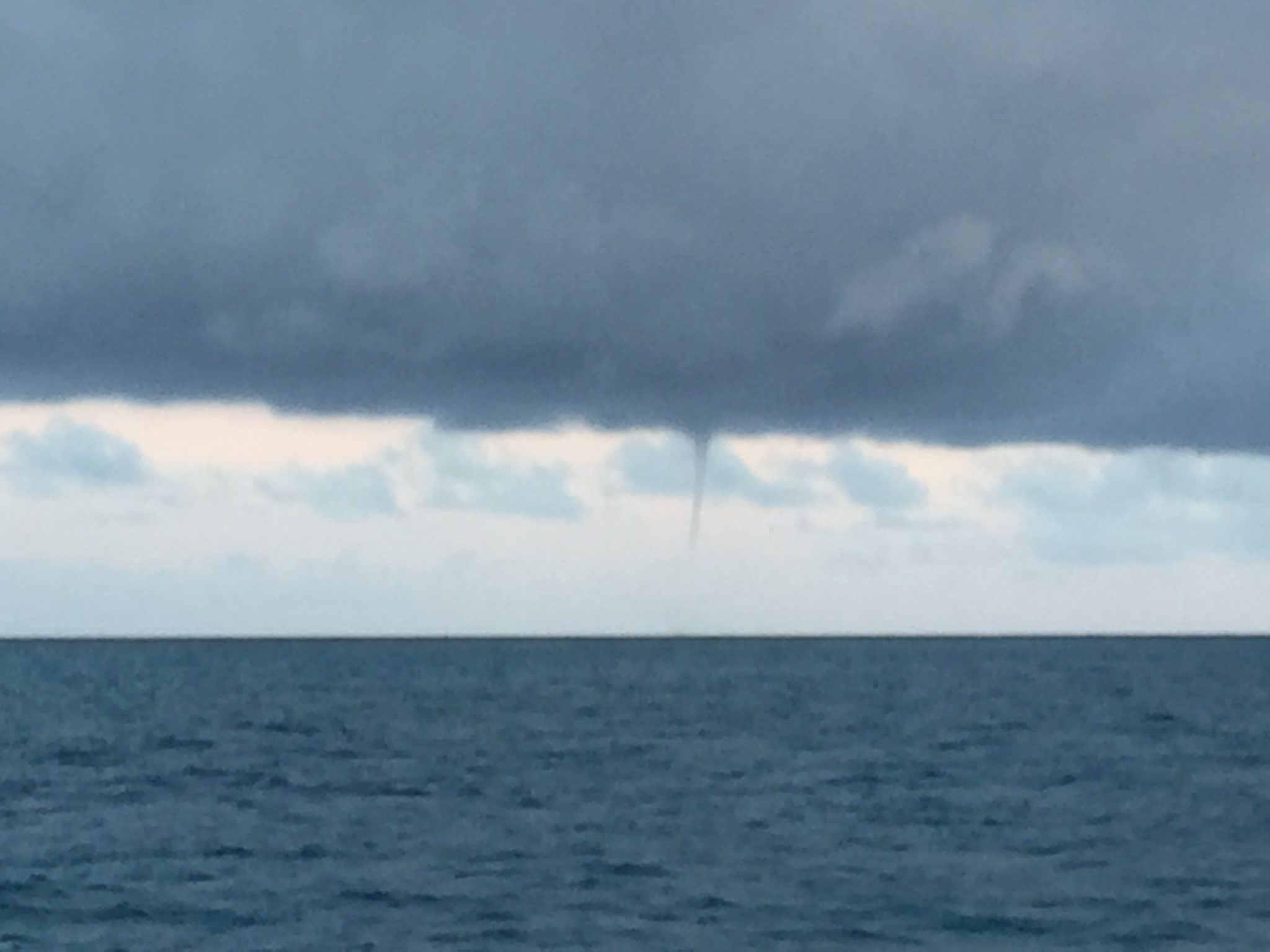 Dry Tortugas Waterspout