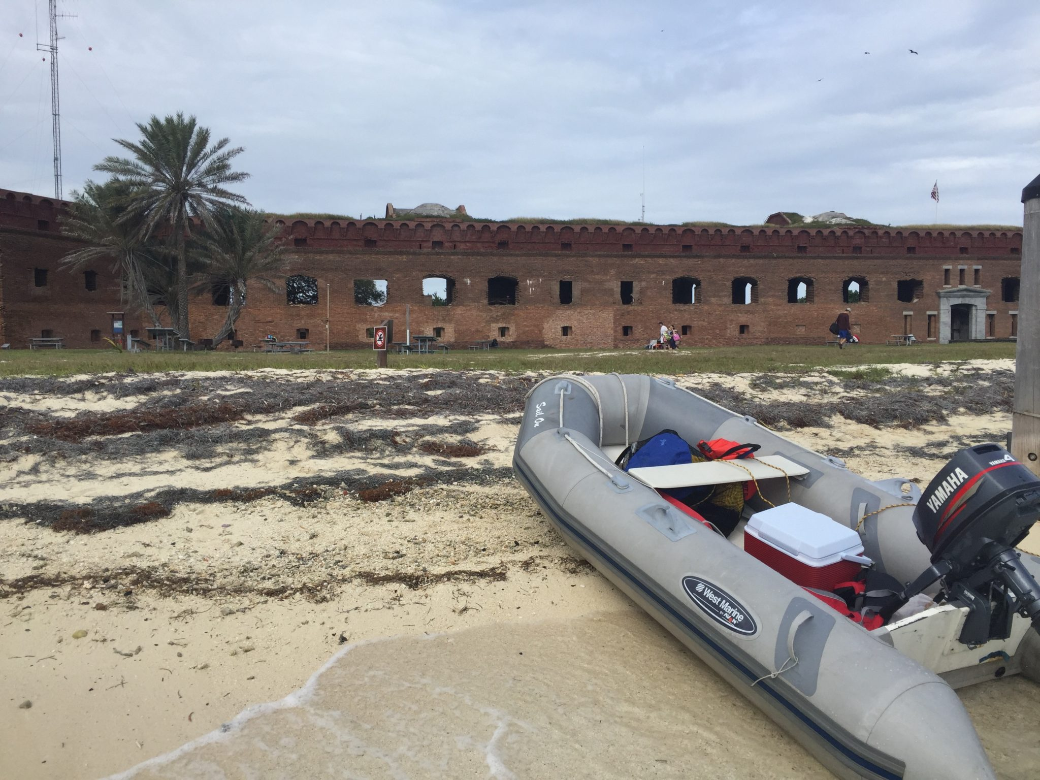 Dry Tortugas dingy
